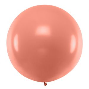Mega ballon Metallic Rosé Goud 1m