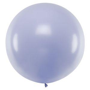 Pastel ballon lila (1m)