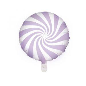 Folieballon Candy lila (45cm)