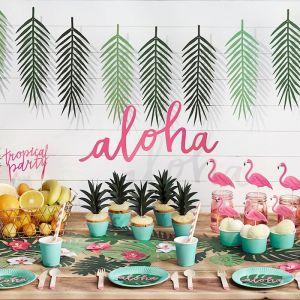 Tropische bladeren slinger Aloha Collectie