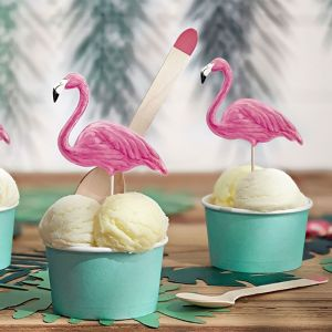 Prikkers flamingo Aloha Collectie (6st)