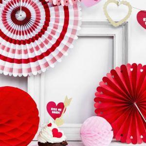 Papieren Waaiers (3st) Sweet Love Collectie