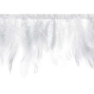 Slinger veren wit (1m)