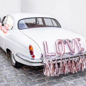 Auto Decoratiepakket Love roségoud