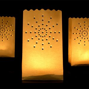 Candle bags stralen (10st)