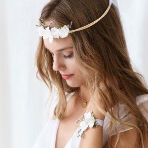Bloemenkroon wit