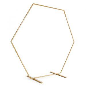 Gouden backdrop frame 2 meter