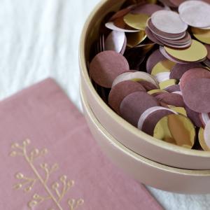 Confetti donker roze Delight Department