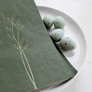 Servetten groen (20st) Delight Department