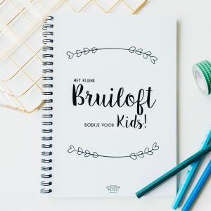Bruiloft for Kids boekje Bonjour to You