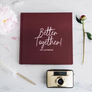 Gastenboek Better Together Bonjour to You