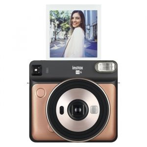 Fujifilm Instax SQ6 Square camera blush gold