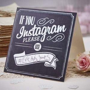 Instagram kaarten (5st) Ginger Ray
