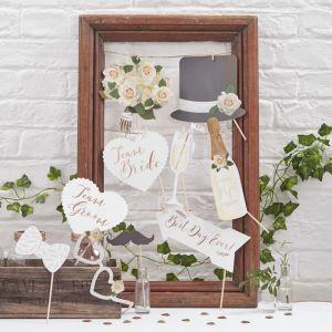 Photobooth props Beautiful Botanics Ginger Ray