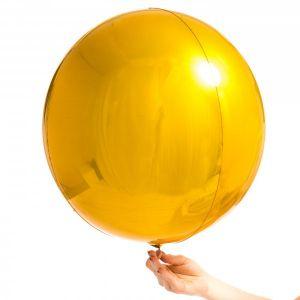 Orbz folieballon goud (40cm)