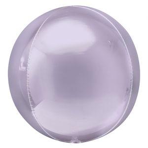 Orbz folieballon pastel lila (40cm)
