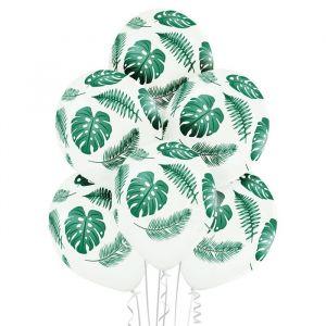 Ballonnen Tropische Bladeren (6st)