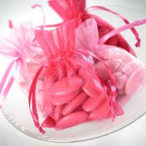 Bedankzakjes Elegance roze (10st)