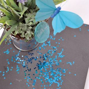 Grove glitters turquoise