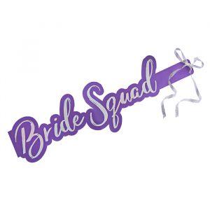 Sjerp Bride Squad Paars (5st) Hootyballoo