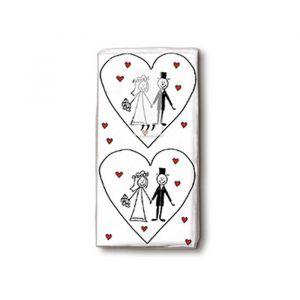 Zakdoekjes Love Couple