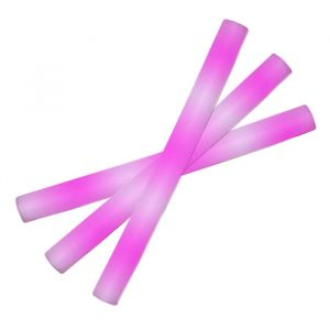 LED Foamstick Paars/Roze (48cm)