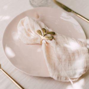 Katoenen servetten cream (2st) À La