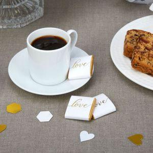 Love chocolaatjes Marmer Goud (20st)