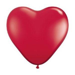 Hartballonnen rood