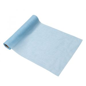 Tafelloper mousseline lichtblauw