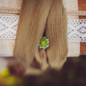 Tafelloper katoen khaki