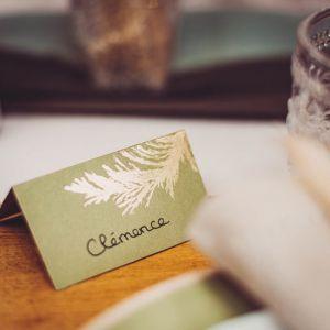 Plaatskaartjes Pampas groen (10st)