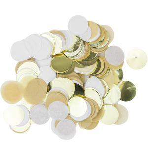 Confetti kraft/wit/goud