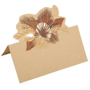 Plaatskaartjes Palm Leaf (10st)