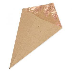 Confetti zakjes Palm Leaf (10st)