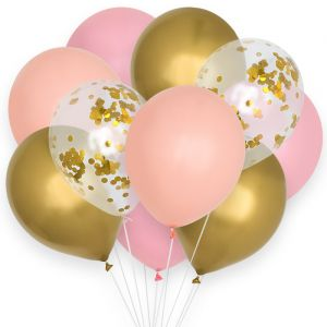 Ballonnenmix Sweet Pastel (12st) House of Gia