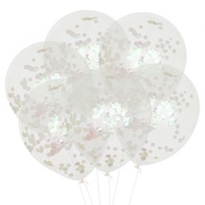 Confetti ballonnen iridescent (6st) House of Gia