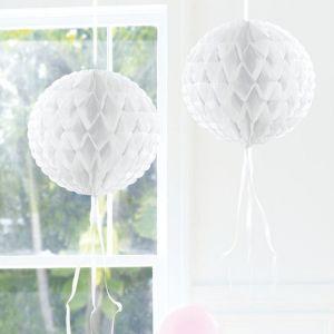 Honeycomb 30cm Wit