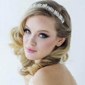 Tiara Corinne Luxe zilver