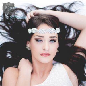Haarband Angelina zilver