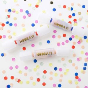 Toot Sweet confetti crackers (6st)