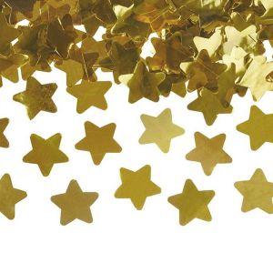 Confetti kanon sterren goud