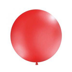 Mega ballon Rood 1m