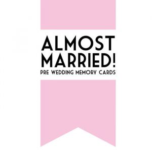 Almost Married Cards Bonjour to You