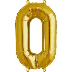 XL Folieballon 0 (90cm) Goud