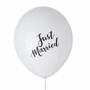 Just Married ballonnen (6st) House of Gia