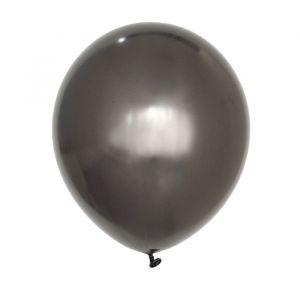 Chroom ballonnen graphite (10st) House of Gia