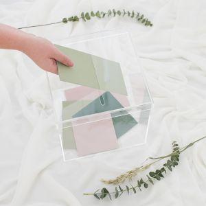 Transparante enveloppendoos House of Gia
