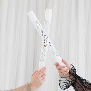 Foam stick met personalisatie modern elegance