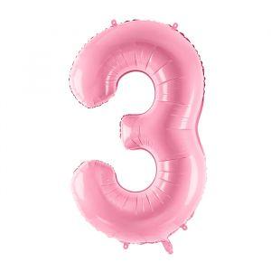 86cm Folieballon Pastel Roze 3